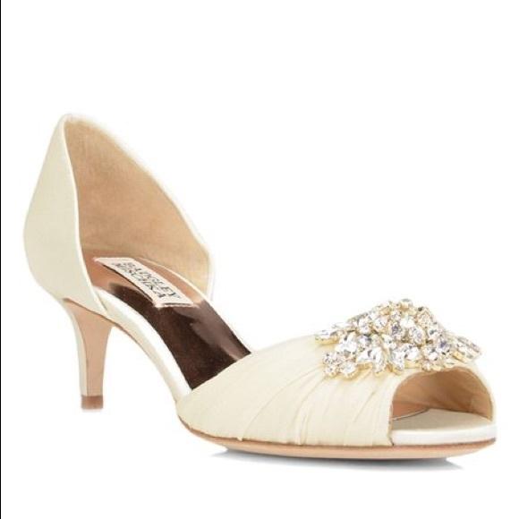 432a8fba86 Badgley Mischka Shoes | Sabine Embellished Evening Shoe | Poshmark